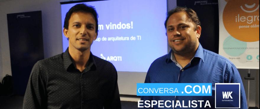 CONVERSA 1 880x370 - Conversa .COM Especialista - SERVICE MESH - service mesh, processos em ti, meetup, Cleber Silveira, arquitetura de software, arqti