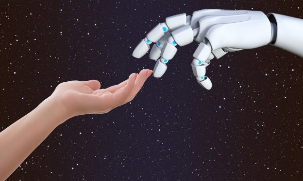 connection 3441052 1280 624x374 - Um Robô no RH: o impacto da inteligência artificial na gestão de pessoas