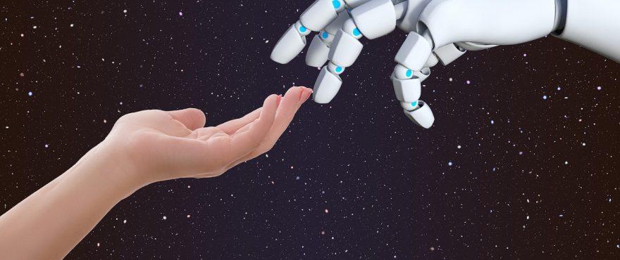 connection 3441052 1280 880x370 - Um Robô no RH: o impacto da inteligência artificial na gestão de pessoas -