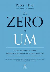De zero a um Peter Thiel 209x300 - Quer Empreender na Tecnologia? 5 livros com dicas Valiosas para abrir sua Startup