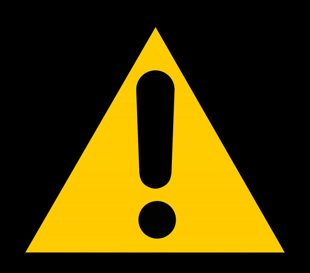 sinal aviso alerta cuidado afaste se procurar emprego mesmo estando empregado 1024x902 - Procurar emprego mesmo estando empregado: como fazer e cuidados para não manchar seu currículo no mercado