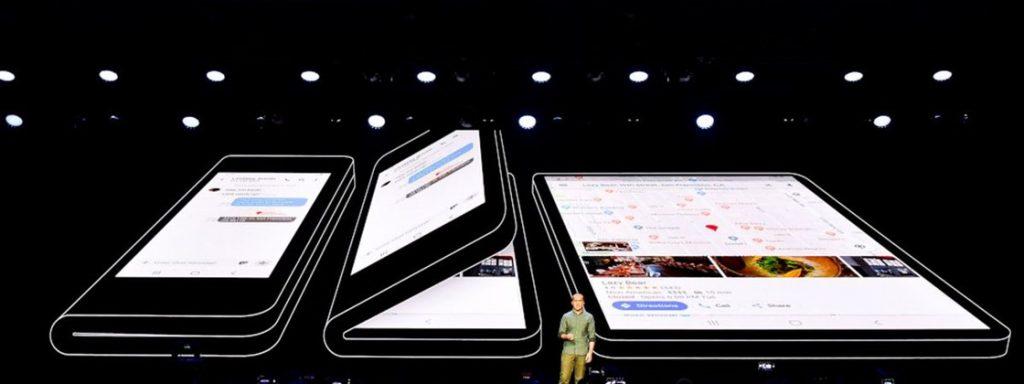 google smartphone dobrável 1024x384 - Smartphone dobrável: marcas, recursos e primeiro modelo lançado