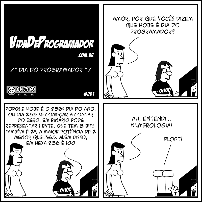 dia do programador tirinha vida de programador - Por que o Dia do Programador é 13 de setembro?
